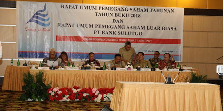 Optimisme Gubernur Sulut Pimpin RUPS Bank SulutGo