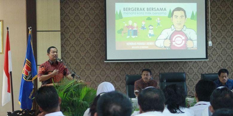 Hendrar Ajak Pejabat Eselon Semarang Ciptakan Inovasi