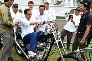 Motor Chopper yang Dibeli Jokowi Seharga Rp 140 Juta
