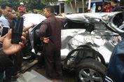 Begini Kondisi Rusak Honda HR-V yang Dit   abrak Kopaja di Rasuna Said