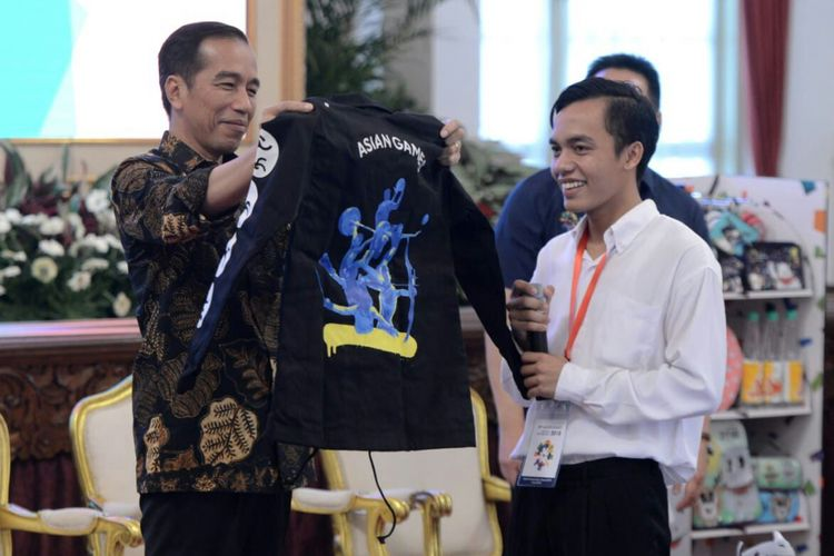 Ariyanto ketika diundang Presiden Joko Widodo ke Istana Presiden, Selasa (5/6/2018) kemarin