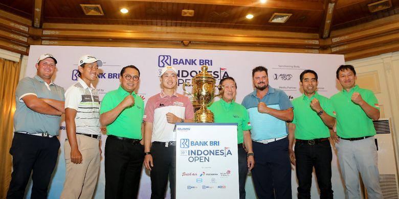 Lagi, BRI Kembali Sponsori Turnamen Golf Indonesia Open