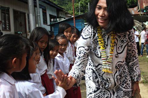 Kisah Pilu di Sekolah Perbatasan Nunukan, 1 Guru untuk 1 Sekolah