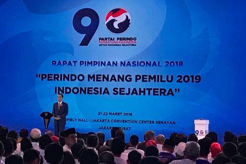Didukung Delapan Parpol, Jokowi Bilang