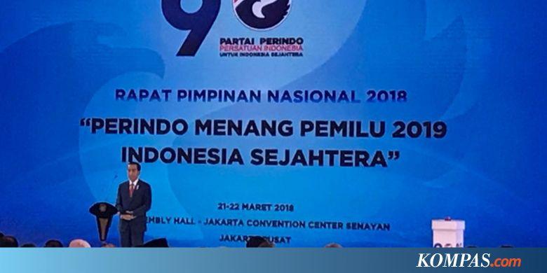 """Didukung Delapan Parpol, Jokowi Bilang """"Mantablah"""""""