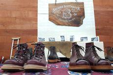 Sagara, Sepatu Boots Premium