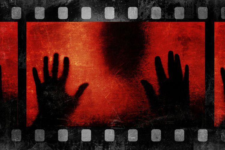 Ilustrasi film seram