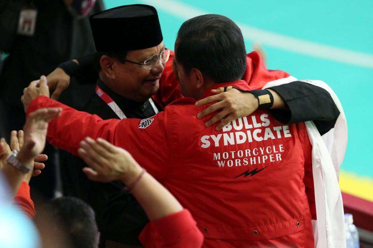Sandiaga Masyarakat Gembira Lihat Jokowi Dan Prabowo Pelukan