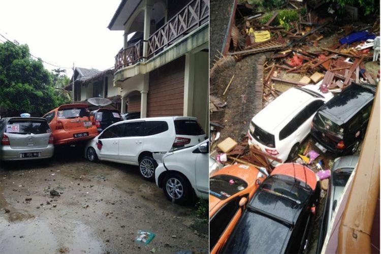 Komunitas Nissan Grand Livina ikut menjadi korban tsunami Banten