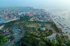 Patung Suroboyo Ikon Baru Kota Pahlawan Makin Cantik, Pesisir Surabaya Jadi Destinasi Liburan Favorit