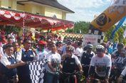 Isnanta Lepas Tim Jelajah Sepeda Nusantara