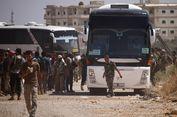 Pemberontak Serahkan Wilayah Dekat Dataran Tinggi Golan ke Pemerintah Suriah