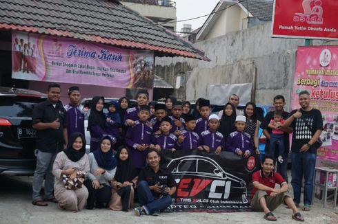 Komunitas Etios Valco Berbagi di Bulan Ramadhan