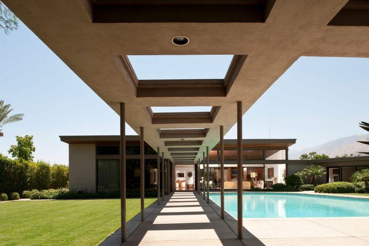 Twin Palms, rumah yang dirancang bagi Frank Sinatra untuk menghindari paparazi.