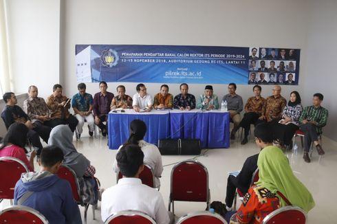 Dari 15 Nama, Tinggal 5 Nama Kandidat Rektor ITS Surabaya