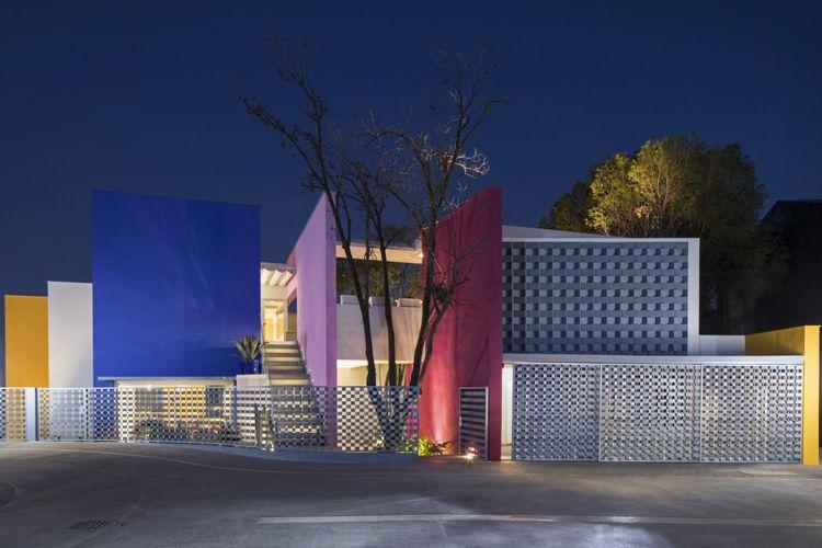 Rumah Casa TEC 2015 di Sierra Madre, Meksiko.