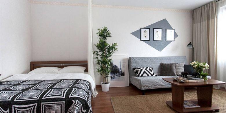 Ilustrasi apartemen studio