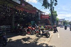 Pusat Aksesori Motor di Jalan Otista Tetap Buka
