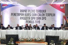 KPU Sahkan Perolehan Kursi Parpol di DPR RI 2019-2024, PDI-P Terbanyak