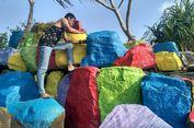 Pantai Cantik Ini Diprotes Netizen karena Dicat Warna-warni