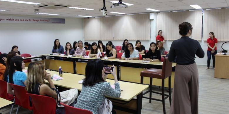 Pendidikan di kampus MDIS, Singapura.