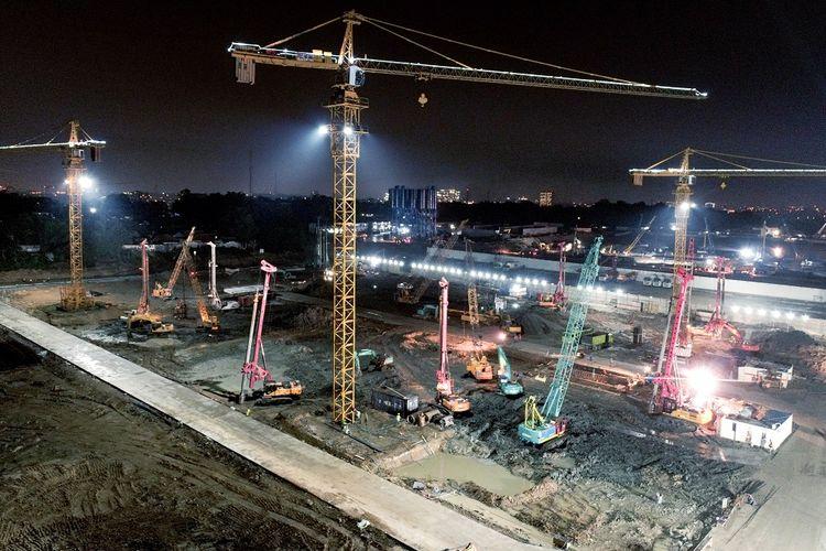 Pembangunan kota baru Meikarta di Cikarang