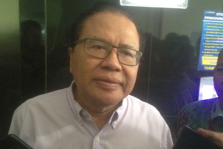 Mantan Menteri Koordinator Kemaritiman dan Sumber Daya, Rizal Ramli, di Semarang, Jumat (15/3/2019)