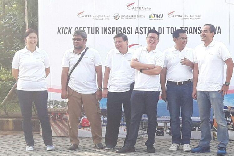 Kick Off Tur Inspirasi Astra Tol Trans Jawa, Minggu (24/2/2019) dan Senin (25/2/2019).