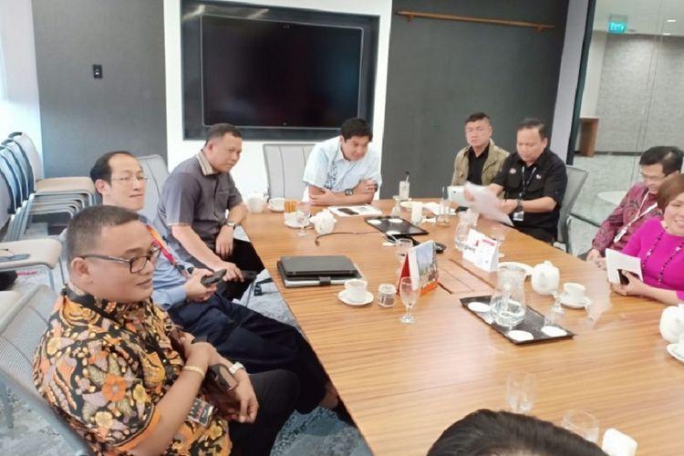 SC Piala Presiden 2019 saat melakukan pertemuan terkait persiapan penyelenggaraan Piala Presiden 2019.