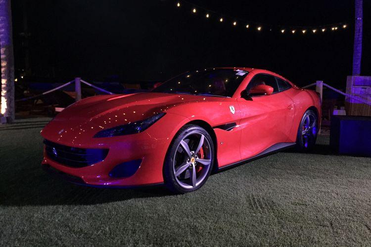 Ferrari Portofino yang diluncurkan Prestige di Bali.