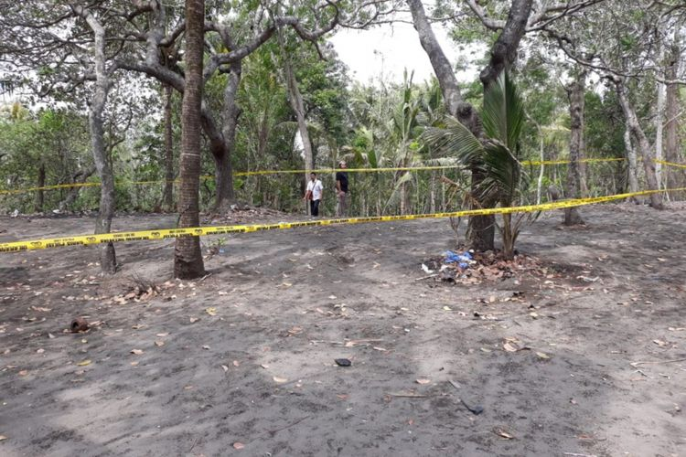 Lokasi Warga Temukan Sesosok Mayat Sebagian Tubuhnya Terbakar di Kecamatan Sanden, Bantul, Yogyakarta
