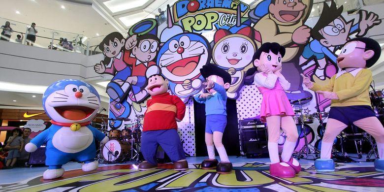 Anda bisa mengajak anak-anak mampir ke AEON Mal Tangerang Selatan menjumpai Doraemon di ajang Doraemon Pop City.
