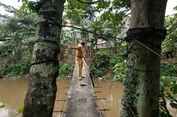 Uji Nyali Pejabat DKI di Jembatan Gantung Jagakarsa...