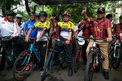 Sepeda Bersama Sohibul, Prabowo Ingin Tunjukan Dirinya Optimistis