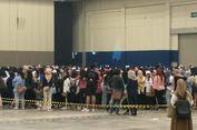 Konser Dihentikan, Wanna One Minta Penonton Tertib