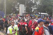 Gerbang Belum Dibuka, Penonton Opening Asian Games Sudah Mengantre