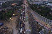 H-10 Lebaran, Pekerjaan Konstruksi di Tol Japek Dihentikan