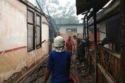 Bangunan SD Ludes Dimakan Api, Siswa Tak Bisa Belajar
