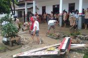 Banjir di Samosir, Sekolah dan Kebun Warga Rusak