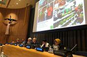 Risma Bicara soal Ketahanan Pangan di Markas PBB