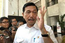 Menko Luhut soal Jokowi Masih Sering Dikritik: Ya, Bagus Dong!