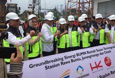 Pembangunan Proyek TOD Stasiun Juanda dan Senen Masih Terkendala Izin