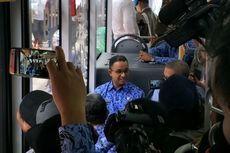 Di Stasiun Kebayoran, Anies Kritik Pembangunan Koridor 13
