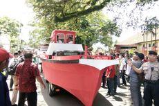 Daftar ke KPU Maluku, Pasangan Murad-Orno Naik