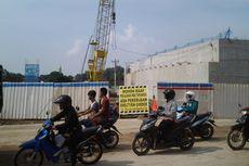 Ada Pemasangan Balok Beton, Jalan Alternatif Kendal-Semarang Dialihkan