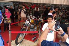 Motor Presiden Jokowi Diserbu Pengunjung IIMS 2018
