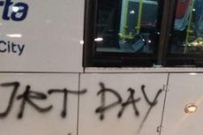Bus Dicoret-coret, PT Transjakarta Ajak Jakmania Bersih-bersih