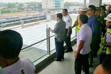 Wapres Kalla Tinjau dan Jajal MRT Jakarta