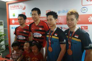 Marcus/Kevin Vs Ahsan/Hendra di Final Indonesia Open, Pelatih Pilih Ngopi di Tribune