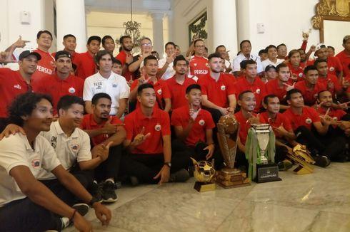 Euforia Persija Jakarta di Balai Kota DKI...